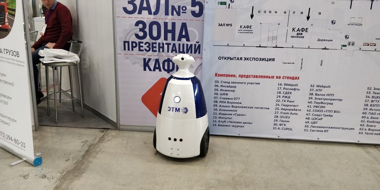 «Электротехнический форум ЭТМ», Воронеж. Робот РБот 100.