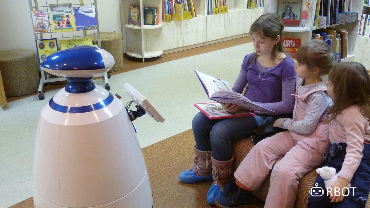 Робот rbot в Питере - не просто няня